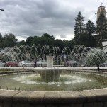 Water fountain in Bitola.