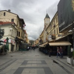 Bitola's main high street.