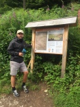 Mark loves a map and a trail!