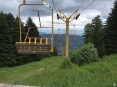 Maybe I would've taken the ski lift if it was still in use, haha!