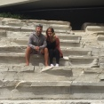 In an ancient ampitheatre right in the middle of the city.
