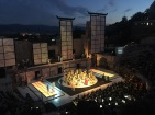 It really was a beautiful performance in a spectacular setting.