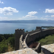 Walk the walls of the fortress.